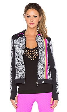 Trina Turk Harbour Island Jacket in Pink Berry