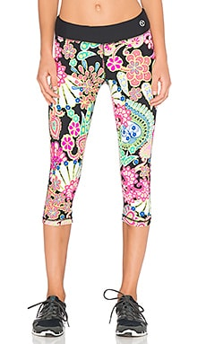 Trina Turk Nandini Mid Length Legging in Multi