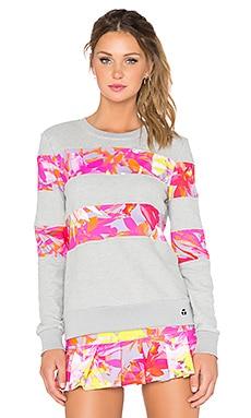 Trina Turk Orchid Print Sweatshirt in Multi