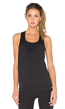 Trina Turk Bermuda Layered Racerback Tank in Black