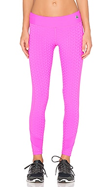 Trina Turk Bermuda Full Length Legging in Pink Berry