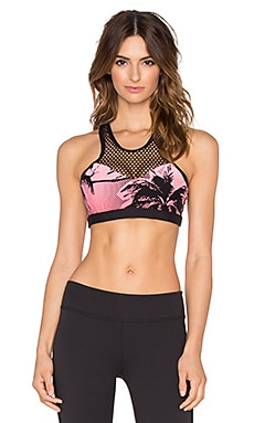 Trina Turk Palm Beach Sports Bra in Tigerlily