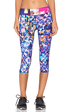 Trina Turk Barbados Mid Length Legging in Multi