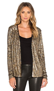 Trina Turk Lucida Jacket in Gold