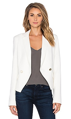 Trina Turk Johan Jacket in White Wash