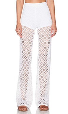 Trina Turk Andria Pant in White