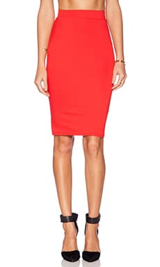 Trina Turk Adelisa Skirt in Lacquer Red