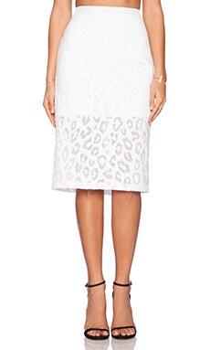 Trina Turk Bretta Maxi Skirt in Whitewash