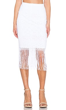 Trina Turk Inaya Skirt in White