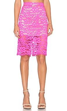 Trina Turk Bretta Skirt in Fuchsia