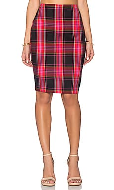 Crissy Pencil Skirt in Multi