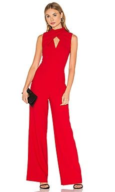Contessa Jumpsuit in Ruby Rose