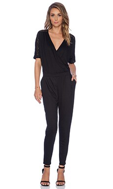 Gia Jumpsuit in Black