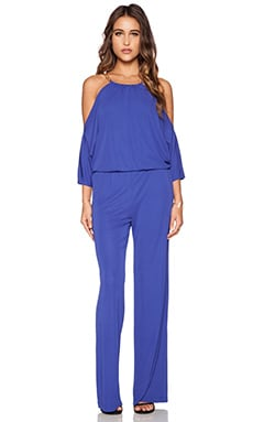 Trina Turk Angie Jumpsuit in Brilliant Blue