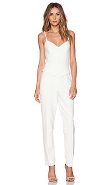 Cristina Jumpsuit in Whitewash
