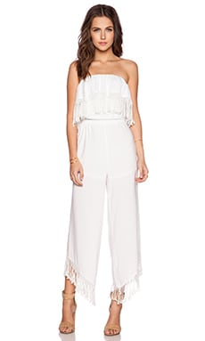 Trina Turk Arista Jumpsuit in White