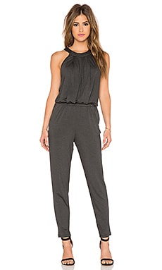 Trina Turk Jessica Jumpsuit in Heather Charcoal