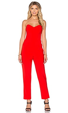 Trina Turk Vendetta Jumpsuit in Ruby