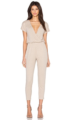 Jaxen Jumpsuit in Nude