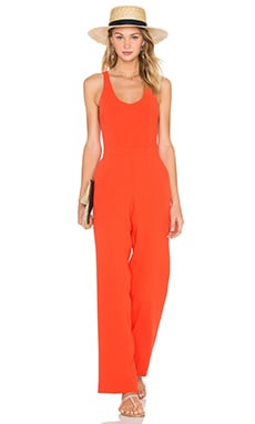 Trina Turk Golda Jumpsuit in Tomato