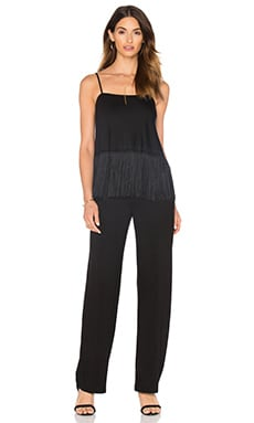 Trina Turk Serika Jumpsuit in Black