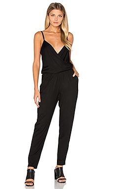 Johnsie Jumpsuit in Black