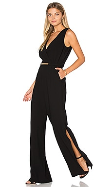 Trina Turk Gerogiana Jumpsuit in Black