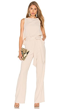 Trina Turk Epoch Jumpsuit in Flawless Beige