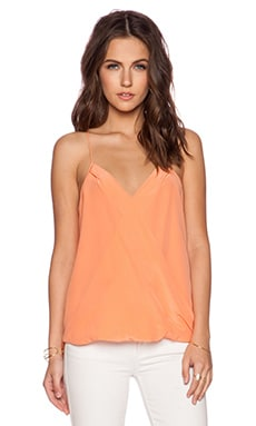 Trina Turk Ally Top in Papaya