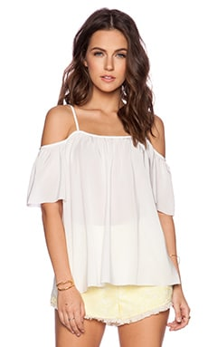 Trina Turk Rosanna Top in White Wash