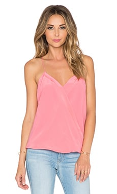 Trina Turk Ally Top in Pink Peony