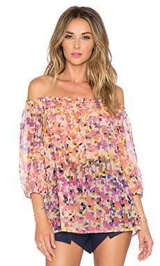 Trina Turk Reid Top in Multi