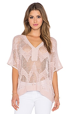 Trina Turk Joplin Top in Scallop