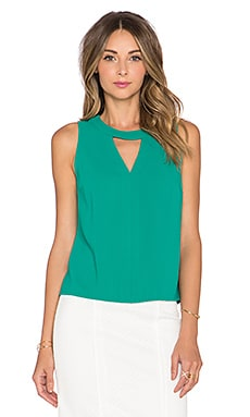 Trina Turk Chickee Tank Top in Jadeite