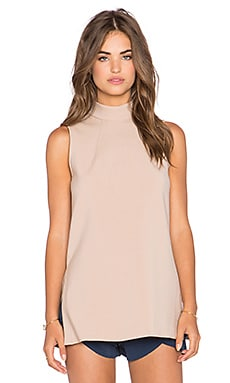 Trina Turk Jaya Top in Camel
