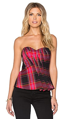 Trina Turk Liriene Tube Top in Multi