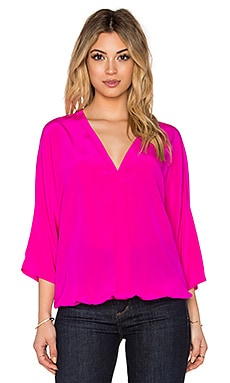 Trina Turk Birkin Top in Brilliant Fuschia