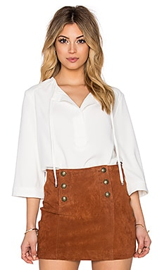 Trina Turk Sedona Top in Whitewash