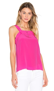 Trina Turk Else Top in Flamingo
