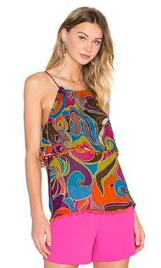 Trina Turk Janaya Top in Multi