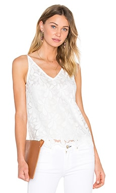 Trina Turk Napa Top in Whitewash