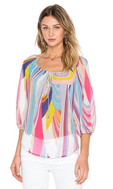 Trina Turk Traveler Top in Multi