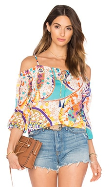 Trina Turk Jillian Top in Multi