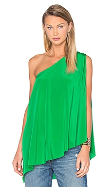 Trina Turk Nimah Tank in Amazon Green