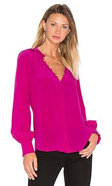Spontaneous Blouse en Boysenberry