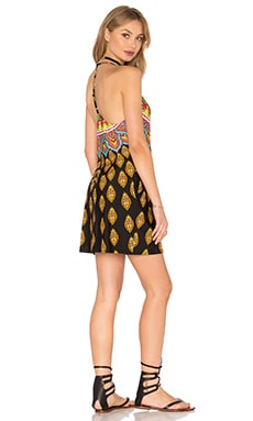Moroccan Medallion Short Dress in Multi