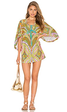 Trina Turk Tunic in Orange Sherbet