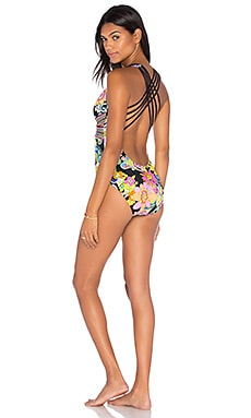 Cross Back One Piece en Multi