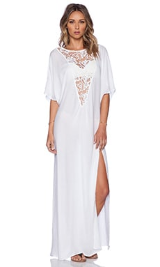 Tt Beach Ronit Maxi Dress in White