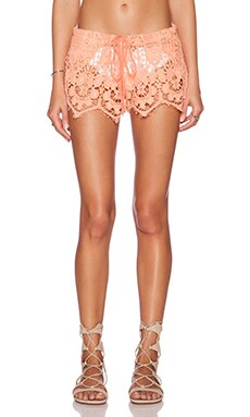 Tt Beach Joey Short in Citrine